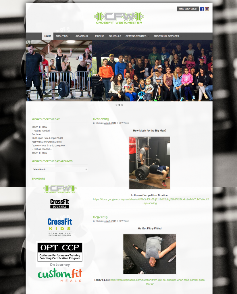 Home   CrossFit Westchester