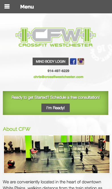 crossfit call to action